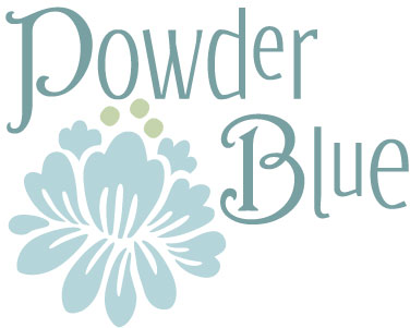 Powder-blue